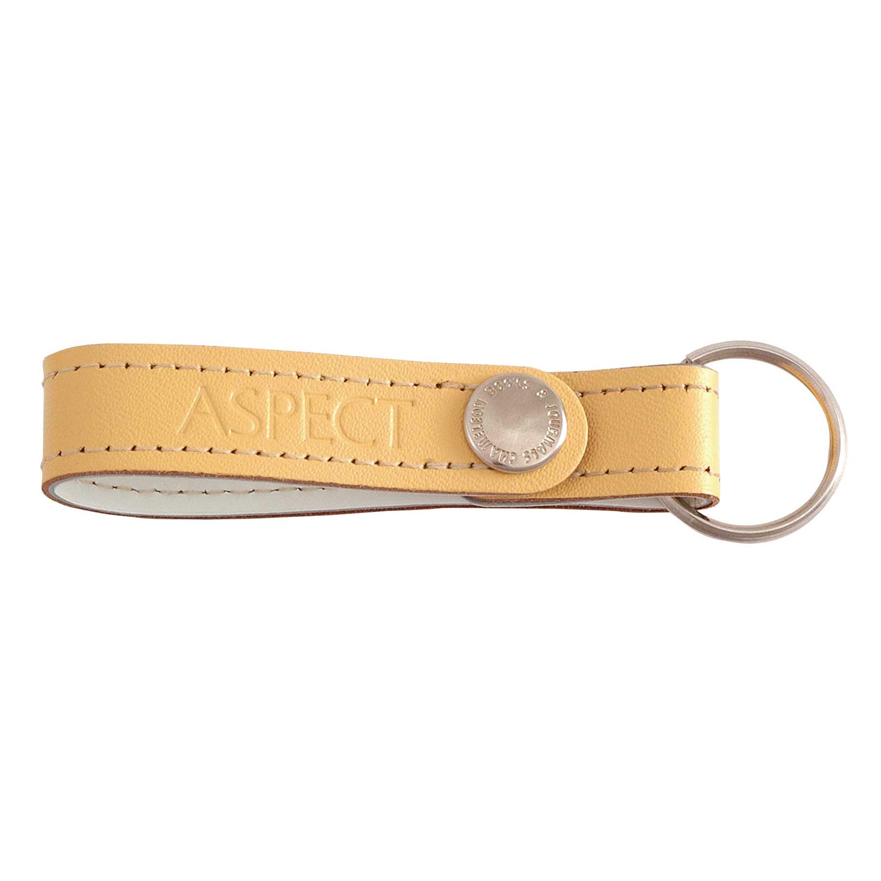 Leather Key Loop w/ Snap Closure