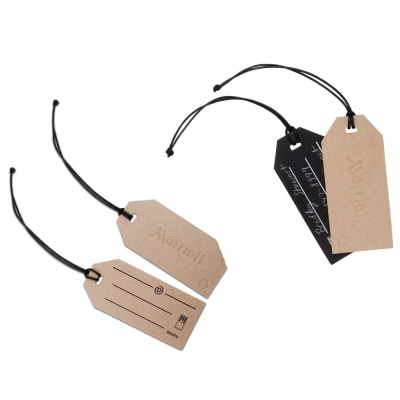 Write-On Luggage Tag - Value Recycled Material