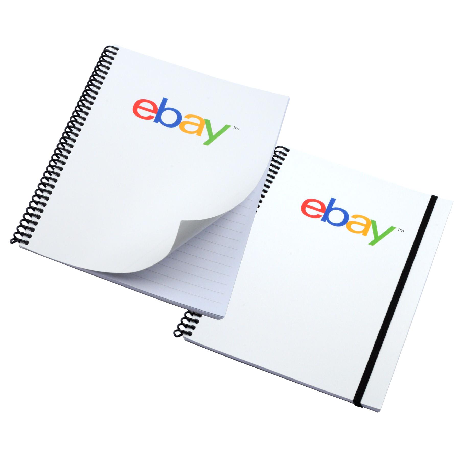 "Custom 4-Color Process Coil Journals (7""x9"")"