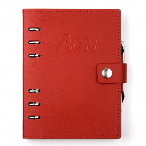 "Infinity Leather Sleek Design Journal - 4.25""x6.75"""