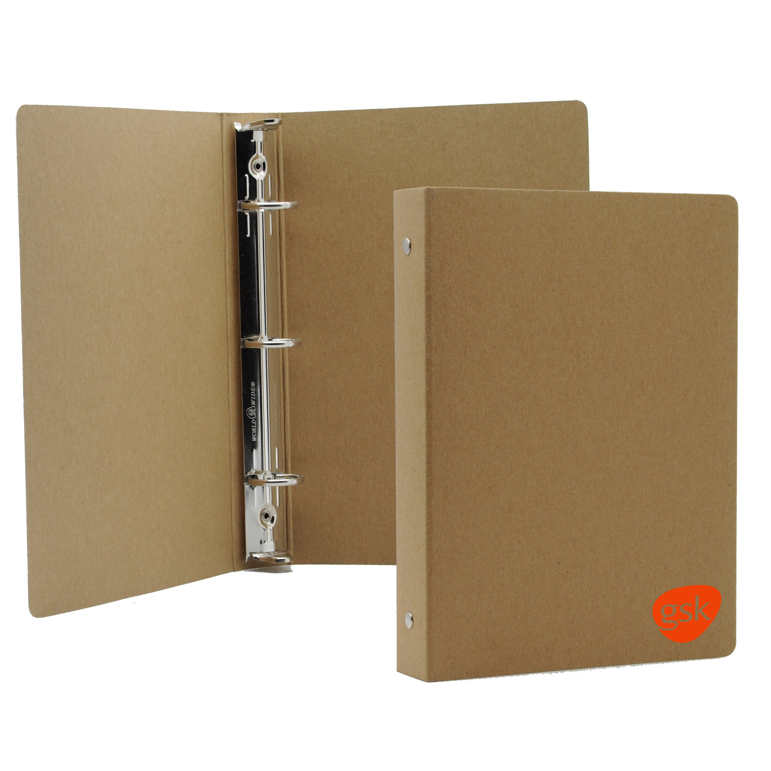 """Standard 3-Ring Binder - Deluxe Poly or Recycled Board (5.5""""x8.5"""")"""