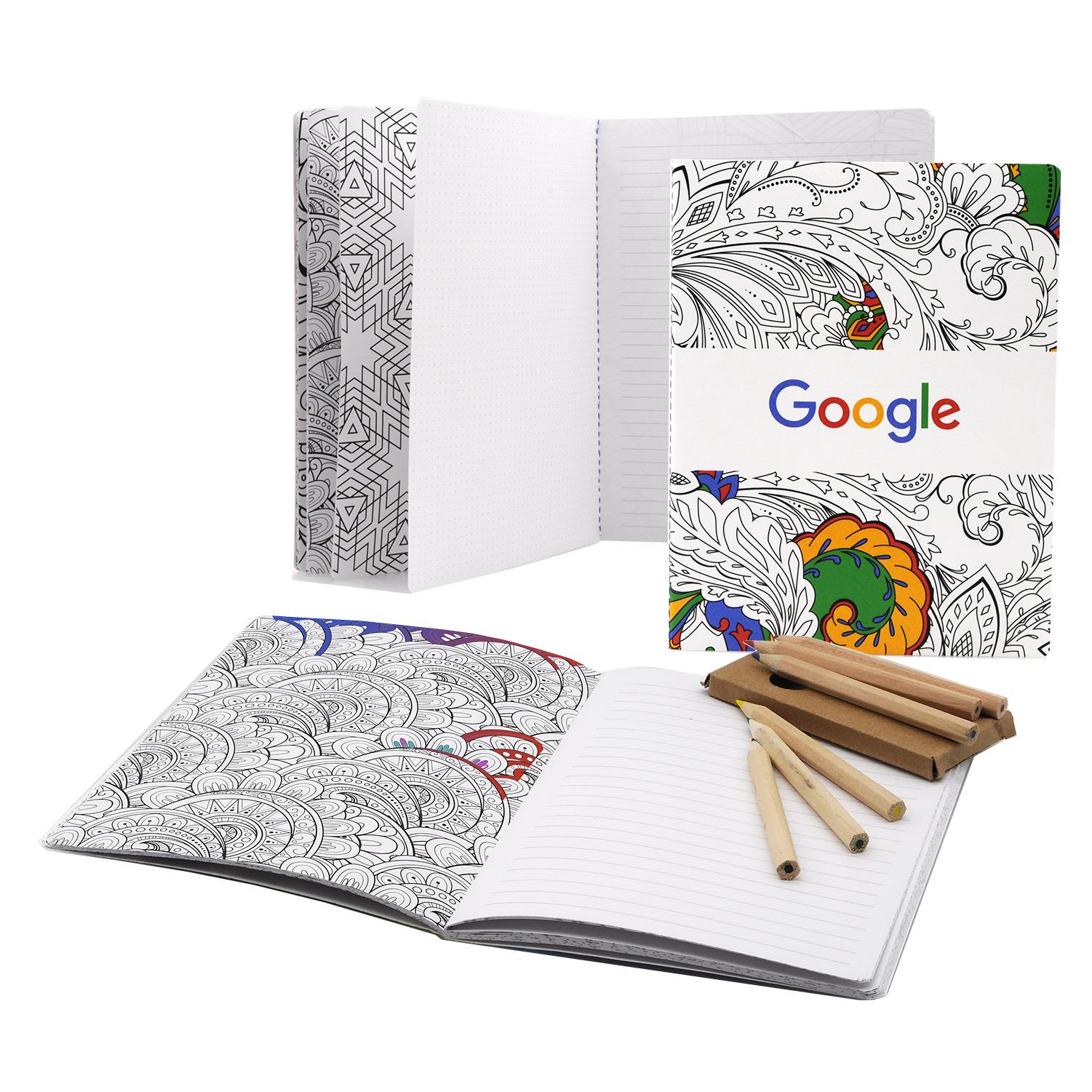 7 X 9 Coloring Journal 48 Pages Branded Chameleon
