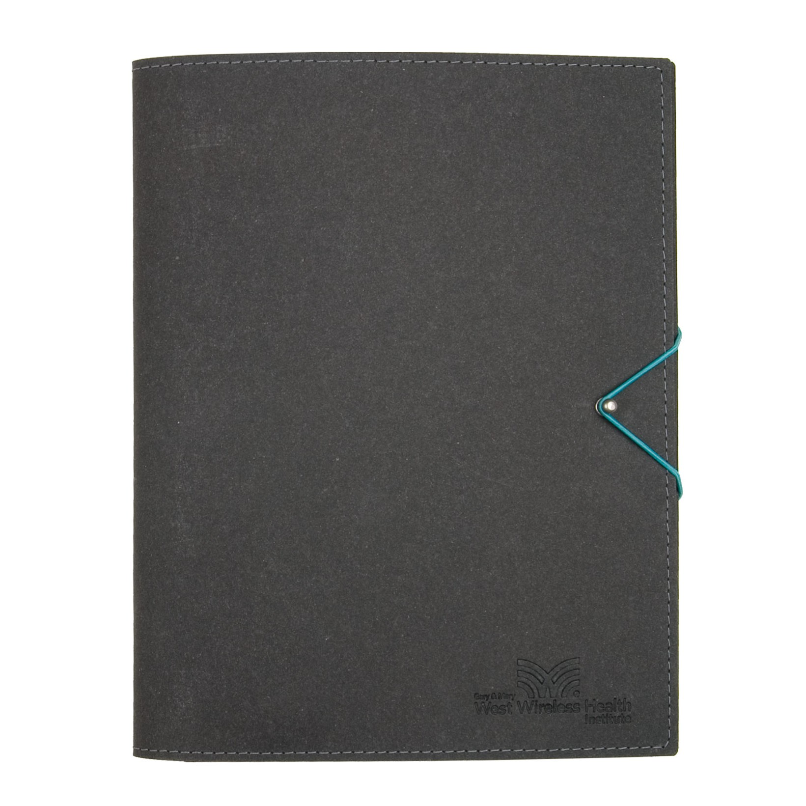 """Leather Annual Report Journal Casement Journal - 10""""x12"""""""