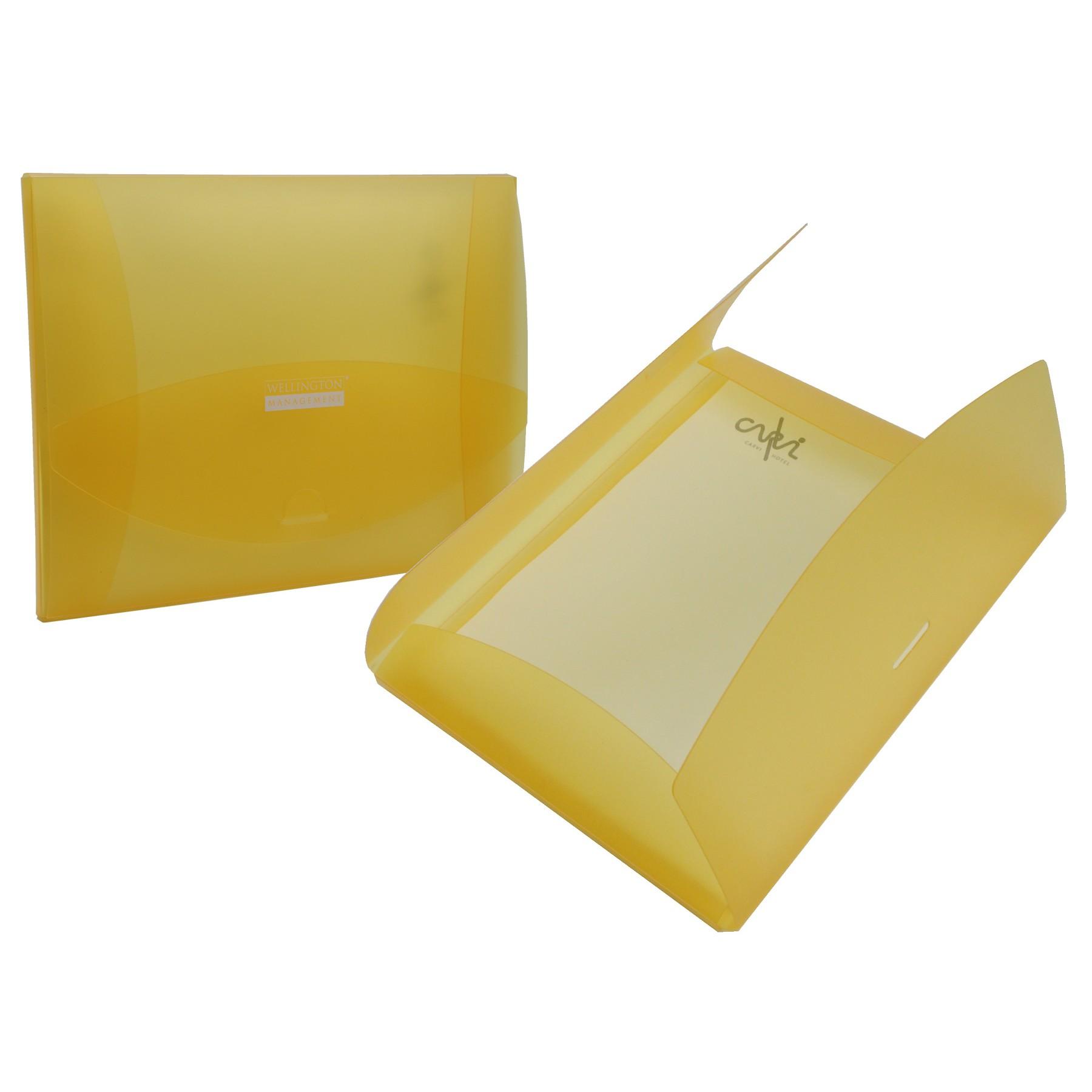 """Tuck-In Deluxe Poly Folders (12"""" x 9"""" x 0.5"""")"""