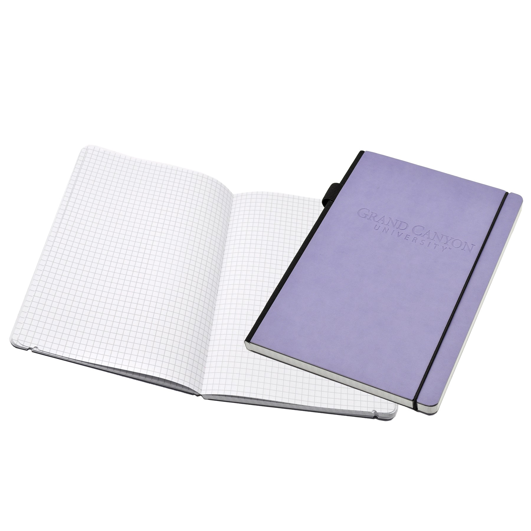 Contempo Bookbound Journal with Matching Color Round Elastic