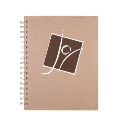 "Dimensional Cover Spiral Journals (7"" x 9"")"