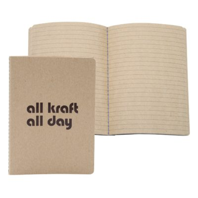 "7"" x 9"" ALL KRAFT Commuter Journal 56 Pages"