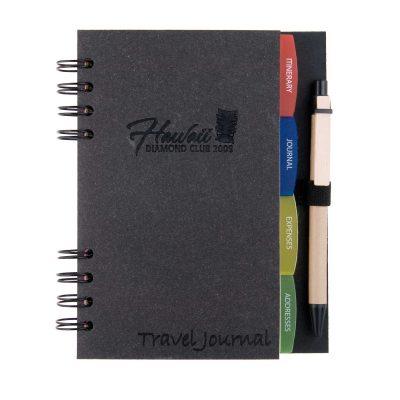 "4.25"" x 6.75"" Travel Companion Spiral Notebook Journal"