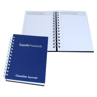 "5"" x 7"" Check-List Spiral Journal Notebook"