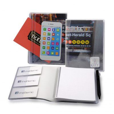"""5"""" x 7"""" City Spiral Notebook Journal"""