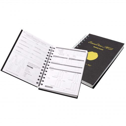 """5"""" x 7"""" Wellness Spiral Journal Notebook"""
