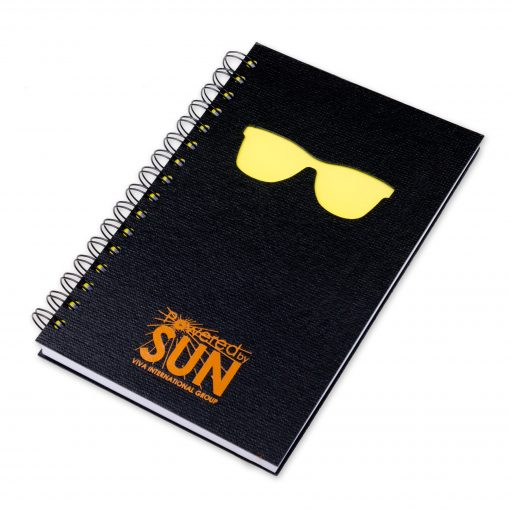 "5.25"" x 8.25"" Window Spiral Journal Notebook"