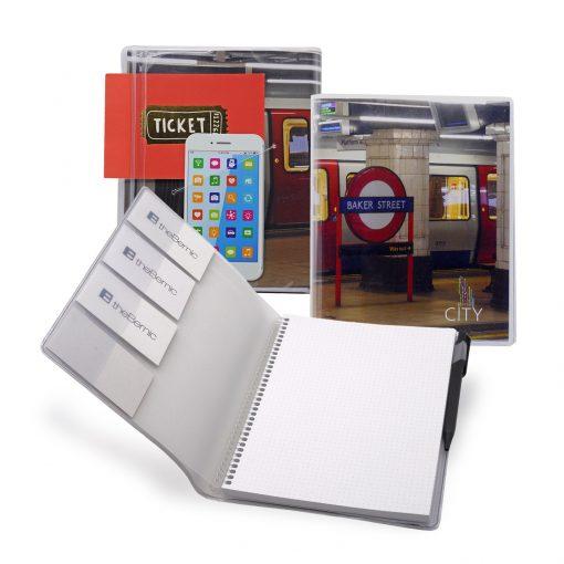 """7"""" x 9"""" City Spiral Notebook Journal"""