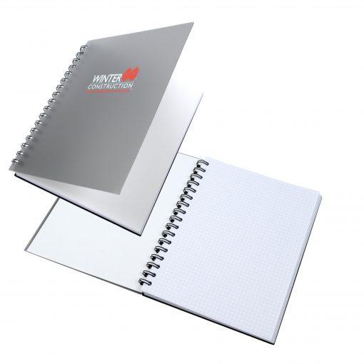 """7"""" x 9"""" Classic Spiral Journal Notebook"""
