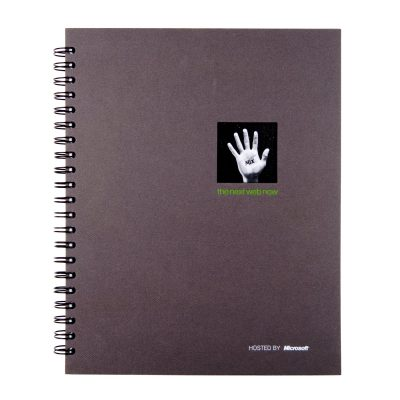 "8.5"" x 11"" Window Spiral Journal Notebook"