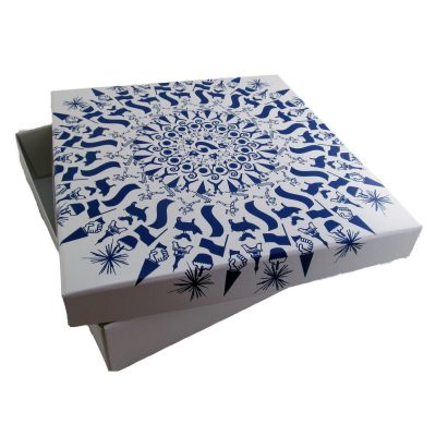 "Large 2 Piece Gift Box Packaging (12""x12""x3"")"