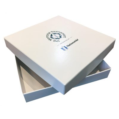 "Large 2 Piece Gift Box Packaging (13""x13""x2"")"