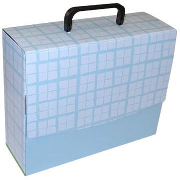 "Large Portfolio Briefcase Style w/ Velcro™ (12""x9.75""x4"")"