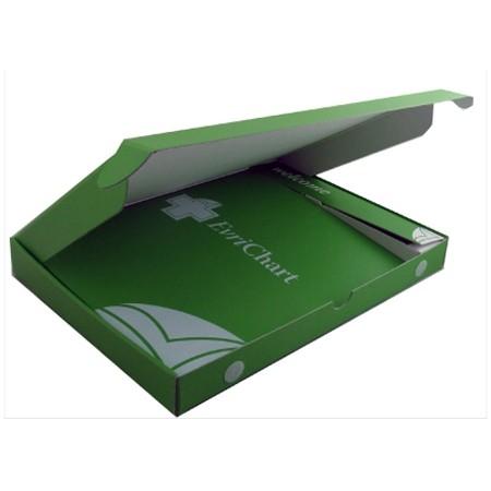 "Medium Flap Gift Box Packaging (13.5x10.13x1.5"")"