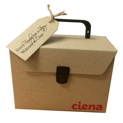 "Medium Flap Gift Box Packaging (8.25""x5.85""x5"")"