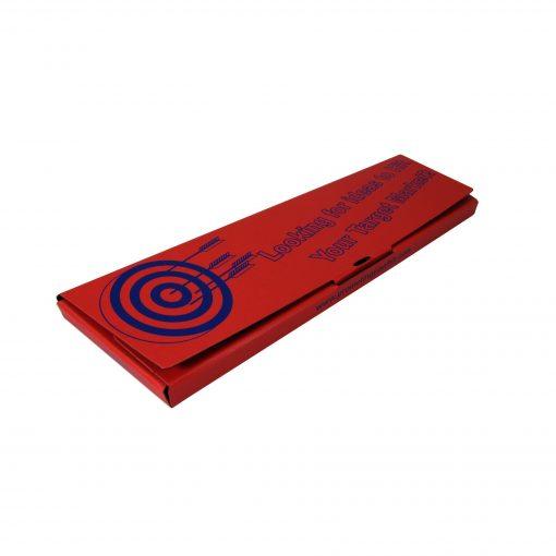 "Medium Self Closing Tuck Tab Gift Box Packaging (17""x5""x.81"")"