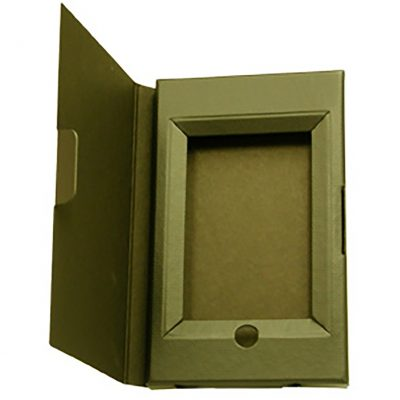 "Small Self Locking Tuck Tab Gift Box Packaging (10.5""x6.38""x.875"")"