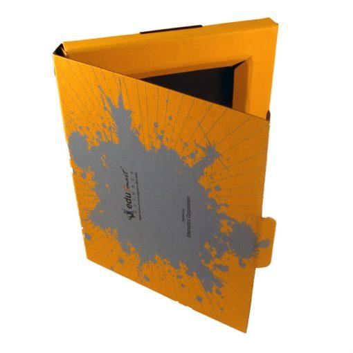 "Small Self Locking Tuck Tab Gift Box Packaging (9.38""x7.5""x.75)"