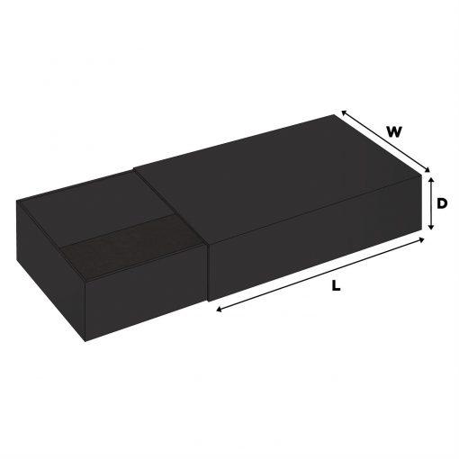 "Jumbo ""Matchbox"" Style Slide In Boxes (18""x12""x4"")"