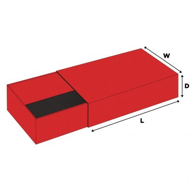 """Large Slide In Boxes (10""""x6""""x4"""")"""