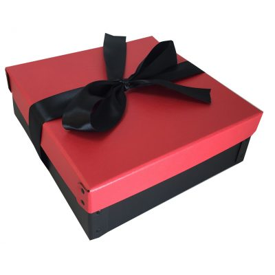 "Medium 2 Piece Gift Box Packaging (9""x9""x3"")"