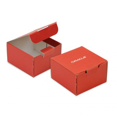 "Medium Self Locking Tuck Tab Gift Box Packaging (5""x5.5""x3"")"