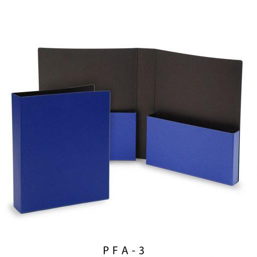 """2-Pocket Portfolio Folder (9.75""""x11.5""""x1.875"""")"""