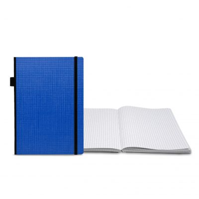 Classic Contempo Bookbound Journal with Matching Color Flat Elastic Closure