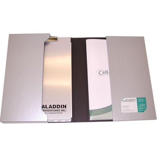 "Large Portfolio 2 Pocket Folder (9.313""x12.75""x1.75"")"