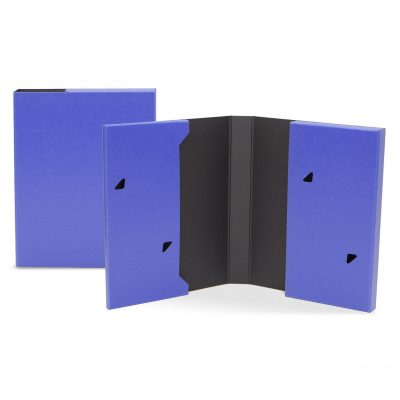 "Portfolio 2 Pocket Folder w/ Snap or Velcro (10""x12""x1.125"")"