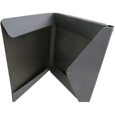 "Portfolio 2 Pocket Folder w/ Snap or Velcro (12.5""x10""x0.75"")"