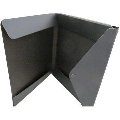 "Portfolio 2 Pocket Folder w/ Snap or Velcro (12.5""x10""x0.75"")"