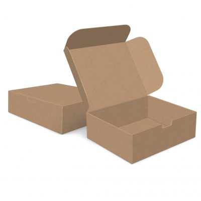 "ECONOLUX MAILERS - Jumbo Size 12""x10""x4"" Tuck-in Closure"
