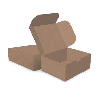 "ECONOLUX MAILERS - Jumbo Size 12""x10""x5"" Tuck-in Closure"