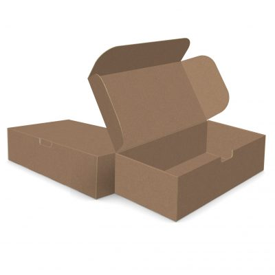 "ECONOLUX MAILERS - Jumbo Size 14""x8""x4"" Tuck-in Closure"