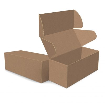 "ECONOLUX MAILERS - Large Size 12""x5.25""x5"" Roll End Closure"