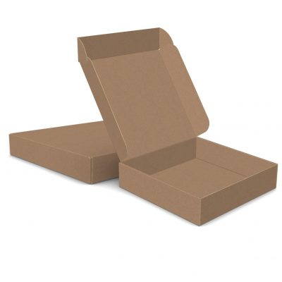 "ECONOLUX MAILERS - Large Size 13""x13""x3"" Roll End Closure"