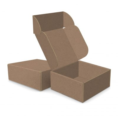 "ECONOLUX MAILERS - Medium Size 5.5""x5.5""x2.5"" Roll End Closure"