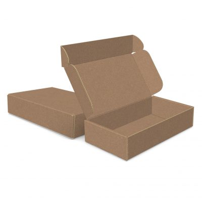 "ECONOLUX MAILERS - Medium Size 8""x4.5""x1.75"" Roll End Closure"