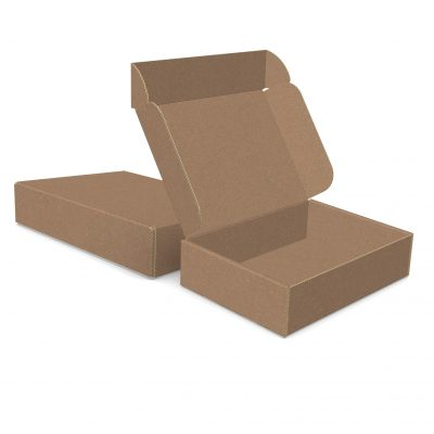 "ECONOLUX MAILERS - Medium Size 8""x6""x2"" Roll End Closure"