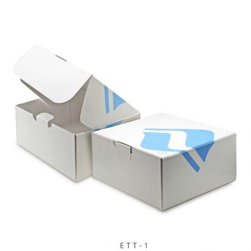 "Jumbo Self Locking Tuck Tab Gift Box Packaging (12.5""x12.5""x5.75"")"