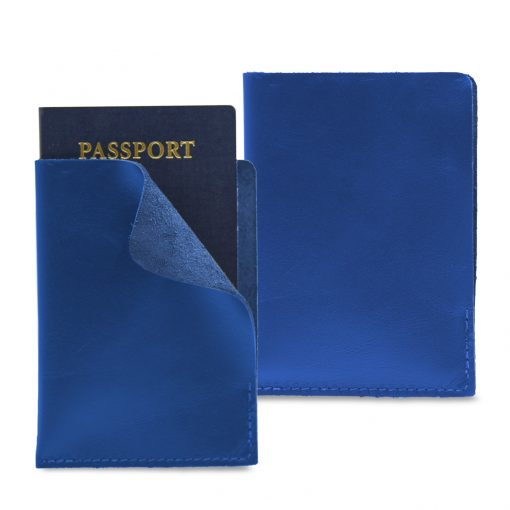 "Simply Leather Passport Cover - 4""x5.5"""
