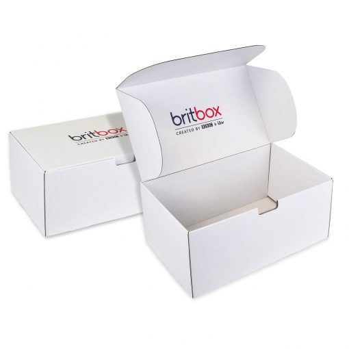 "Custom Boxes Econolux Mailer Jumbo Size 14"" x 8"" x 6"""