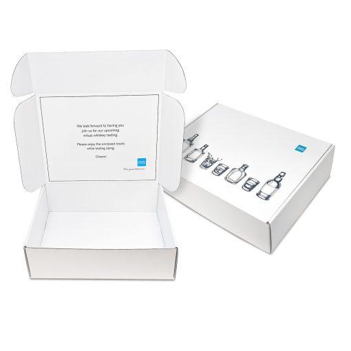 "Custom Boxes Econolux Mailer Large Size 11.75"" x 9"" x3.5"""