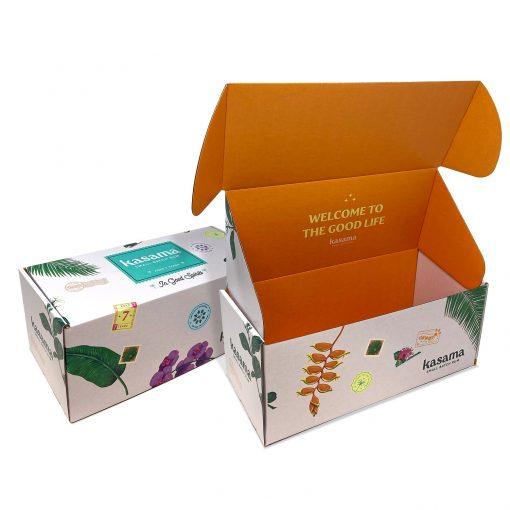 "Custom Boxes Econolux Mailer Large Size 12"" x 5.25"" x 5"""